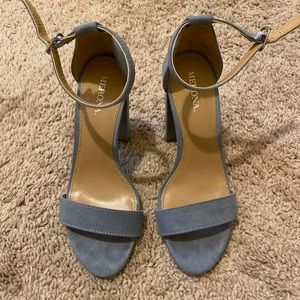 Shoes - Baby blue heels